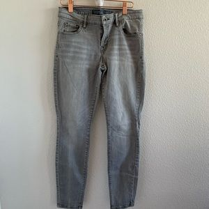 Guess Power Curvy Mid Gray Jeans 29